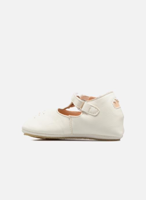 Chaussons Easy Peasy Lillyp Blanc vue face