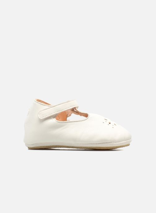 Chaussons Easy Peasy Lillyp Blanc vue derrière