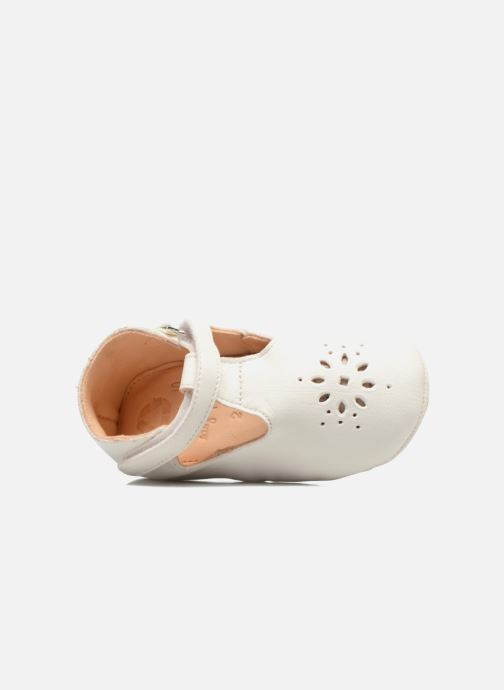 Chaussons Easy Peasy Lillyp Blanc vue gauche
