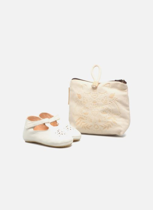 Chaussons Easy Peasy Lillyp Blanc vue détail/paire