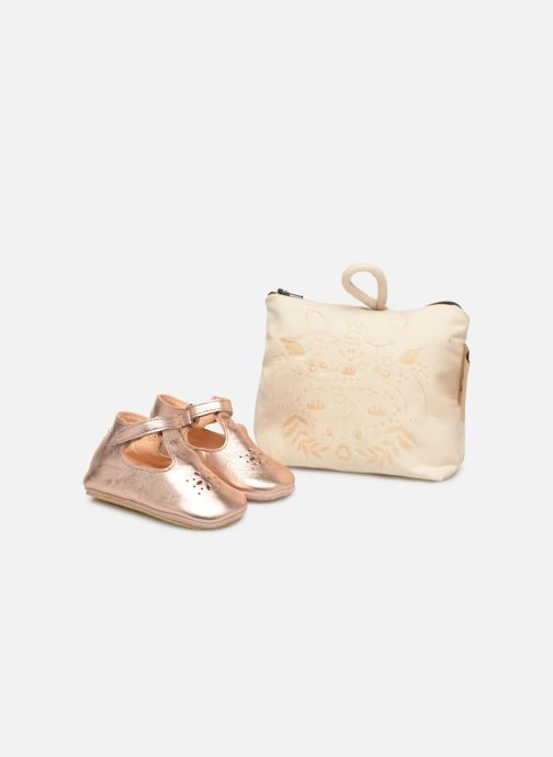 Chaussons Easy Peasy Lillyp Rose vue détail/paire