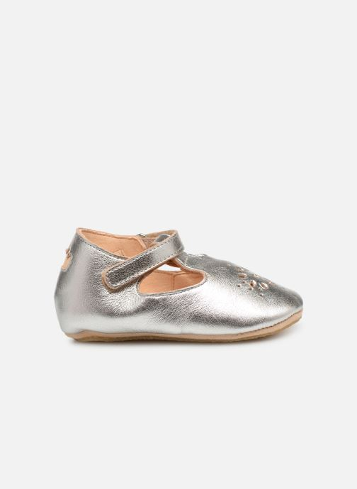 Chaussons Easy Peasy Lillyp Argent vue derrière