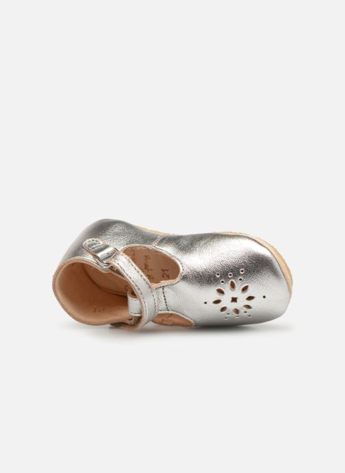 Chaussons Easy Peasy Lillyp Argent vue gauche