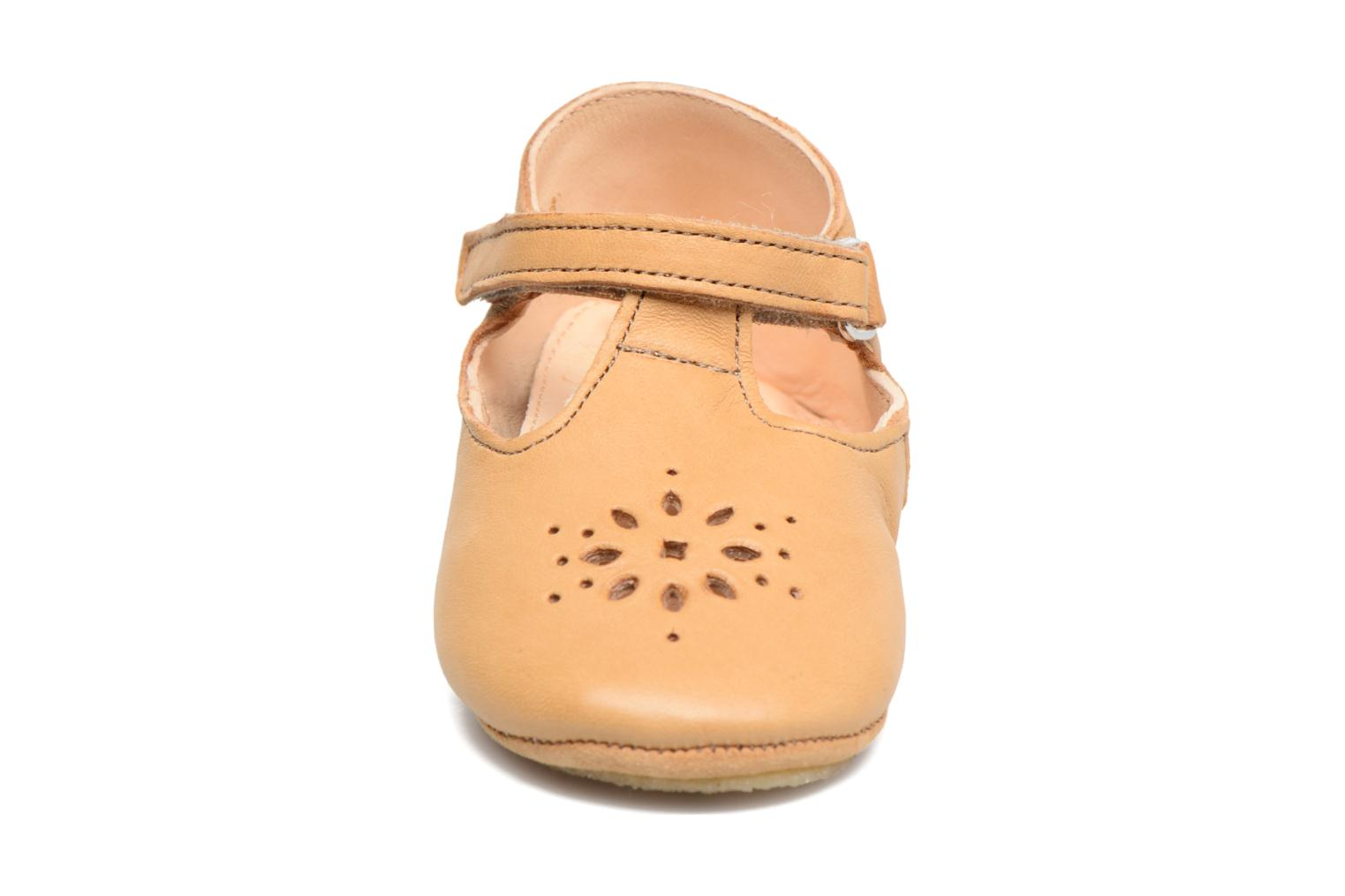 Chaussons Easy Peasy Lillyp Marron vue face
