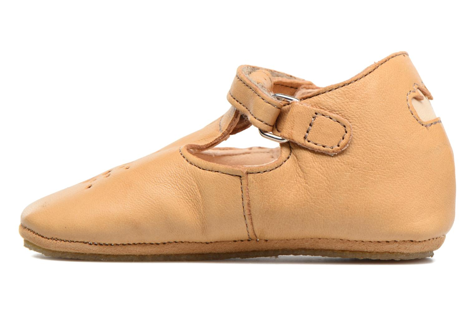 Chaussons Easy Peasy Lillyp Marron vue droite