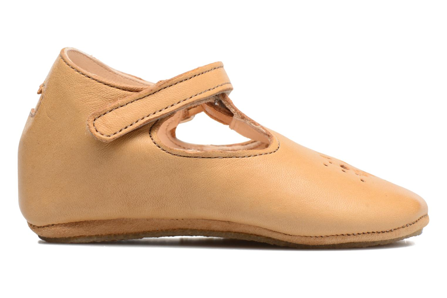Chaussons Easy Peasy Lillyp Marron vue gauche