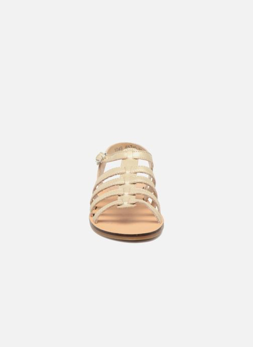 Sandales et nu-pieds Little Mary Byblos Or et bronze vue portées chaussures