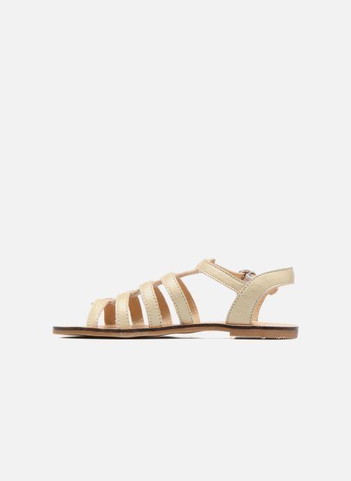 Sandales et nu-pieds Little Mary Byblos Or et bronze vue face