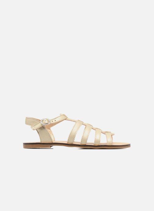 Sandales et nu-pieds Little Mary Byblos Or et bronze vue derrière