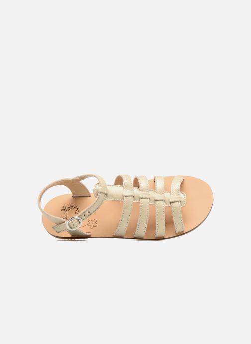 Sandales et nu-pieds Little Mary Byblos Or et bronze vue gauche