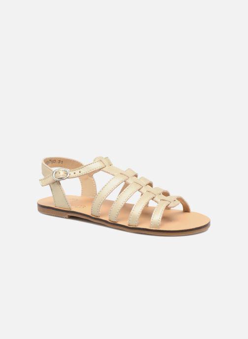 Sandales et nu-pieds Little Mary Byblos Or et bronze vue détail/paire