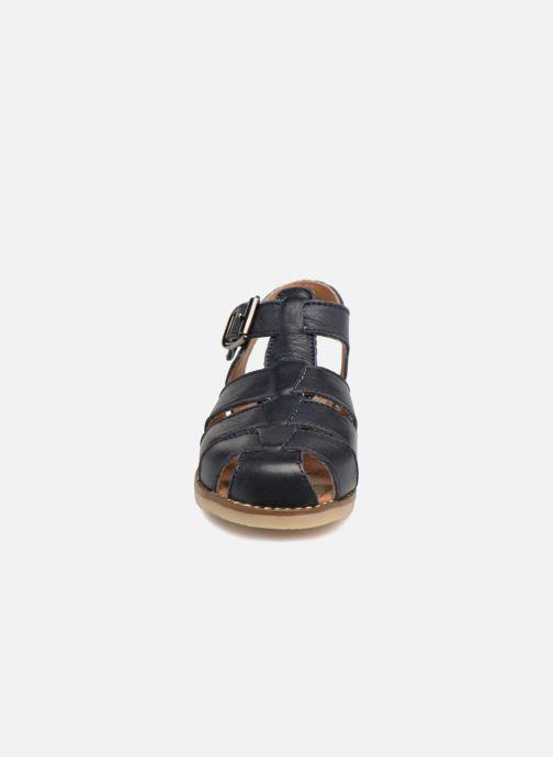 Sandales et nu-pieds Little Mary Brehat Bleu vue portées chaussures