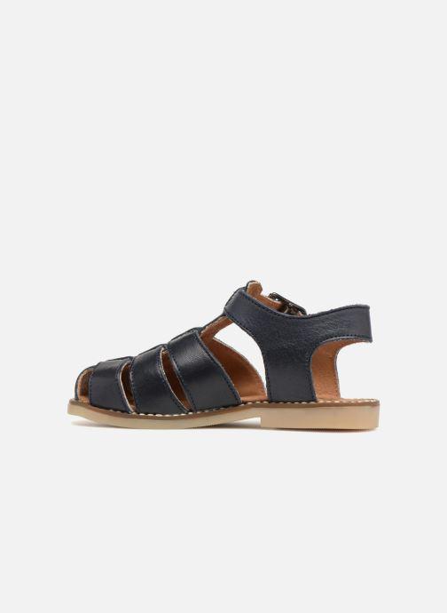 Sandales et nu-pieds Little Mary Brehat Bleu vue face