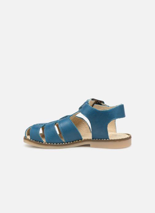 Sandalen Little Mary Brehat blau ansicht von vorne