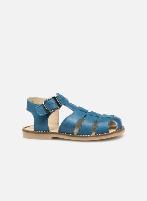 Sandalen Little Mary Brehat blau ansicht von hinten
