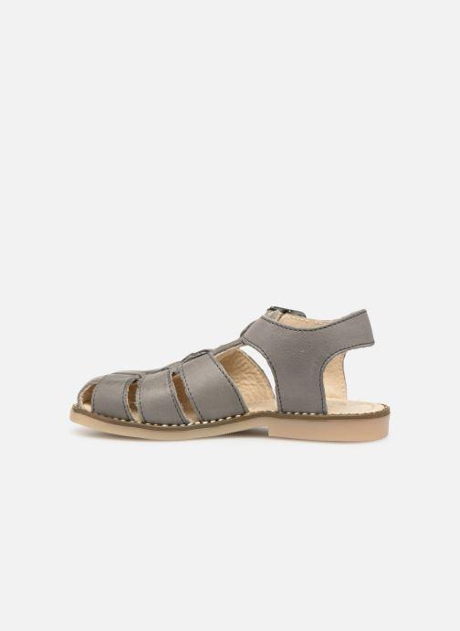 Sandales et nu-pieds Little Mary Brehat Gris vue face