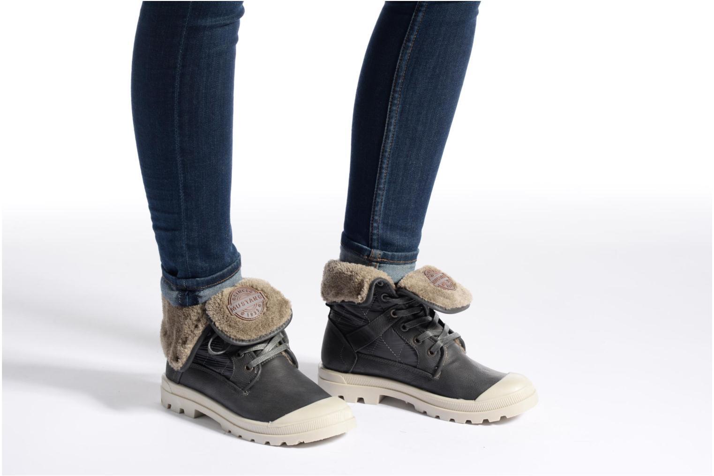 Stiefeletten & Boots Mustang shoes Amalia grau ansicht von unten / tasche getragen