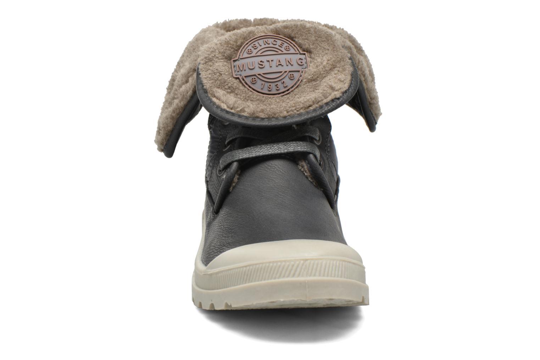 Stiefeletten & Boots Mustang shoes Amalia grau schuhe getragen