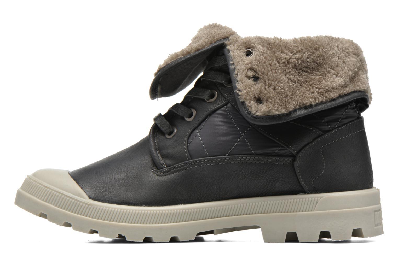 Stiefeletten & Boots Mustang shoes Amalia grau ansicht von vorne