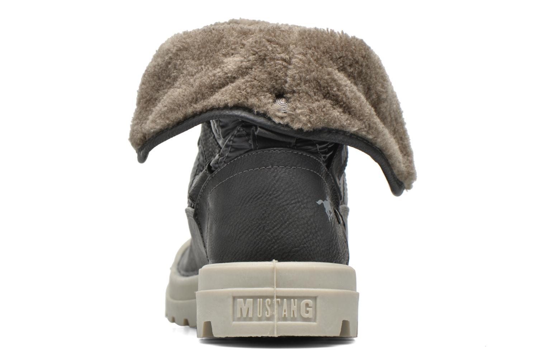 Stiefeletten & Boots Mustang shoes Amalia grau ansicht von rechts