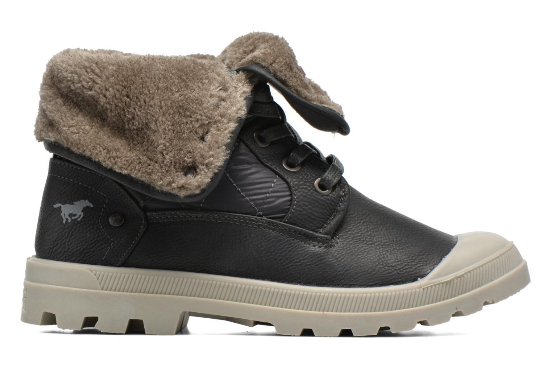 Stiefeletten & Boots Mustang shoes Amalia grau ansicht von hinten