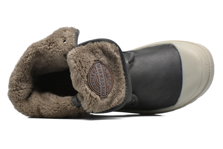 Stiefeletten & Boots Mustang shoes Amalia grau ansicht von links
