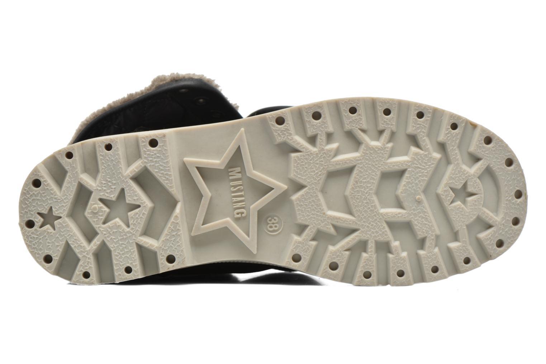 Stiefeletten & Boots Mustang shoes Amalia grau ansicht von oben