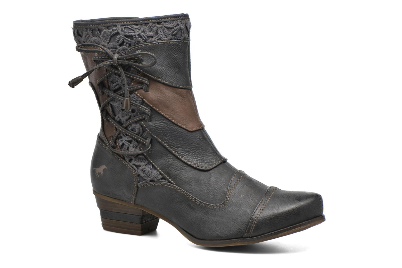 Bottines et boots Mustang shoes Amy Gris vue détail/paire