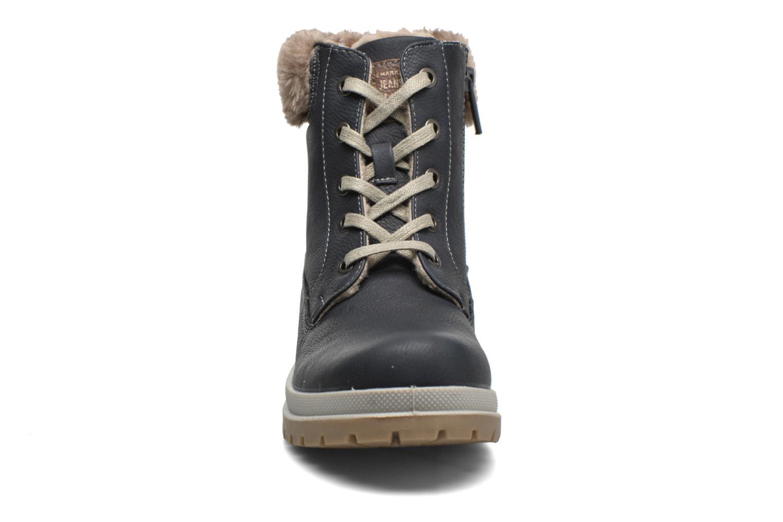 Stiefeletten & Boots Mustang shoes Aurelle blau schuhe getragen
