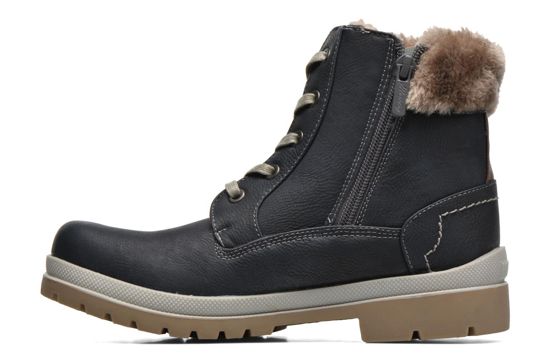 Bottines et boots Mustang shoes Aurelle Bleu vue face