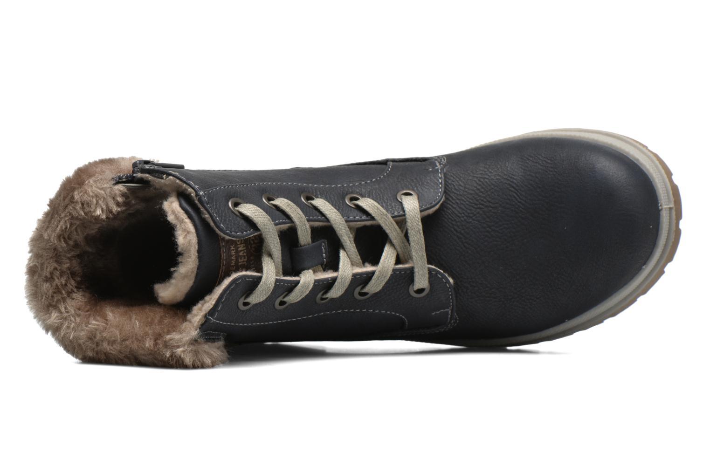 Stiefeletten & Boots Mustang shoes Aurelle blau ansicht von links