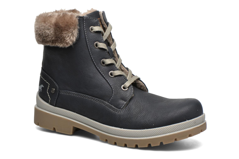 Stiefeletten & Boots Mustang shoes Aurelle blau detaillierte ansicht/modell