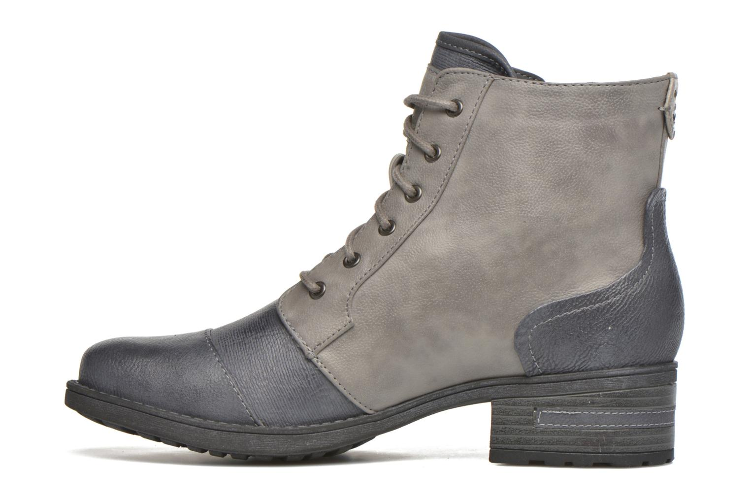 Ankle boots Mustang shoes Axelle Grey front view