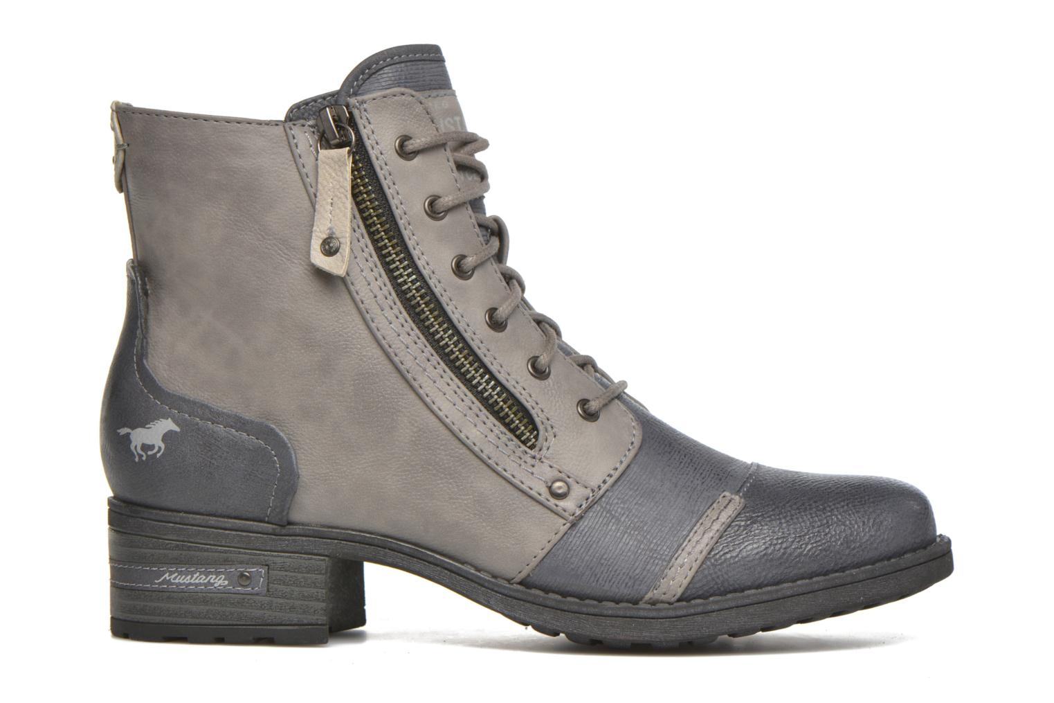 Ankle boots Mustang shoes Axelle Grey back view