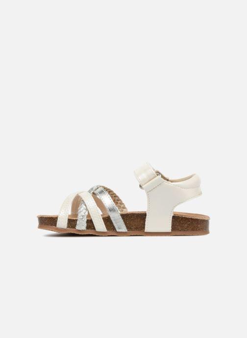 Sandales et nu-pieds NA! Aglaya Blanc vue face