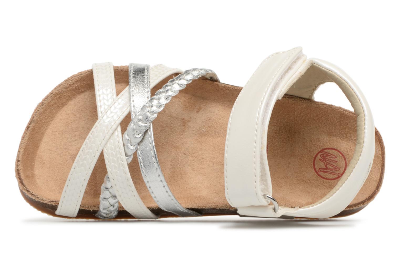 Sandalen NA! Aglaya weiß ansicht von links