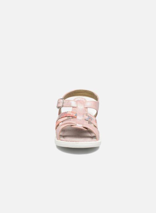 Sandales et nu-pieds NA! Adelicia Rose vue portées chaussures