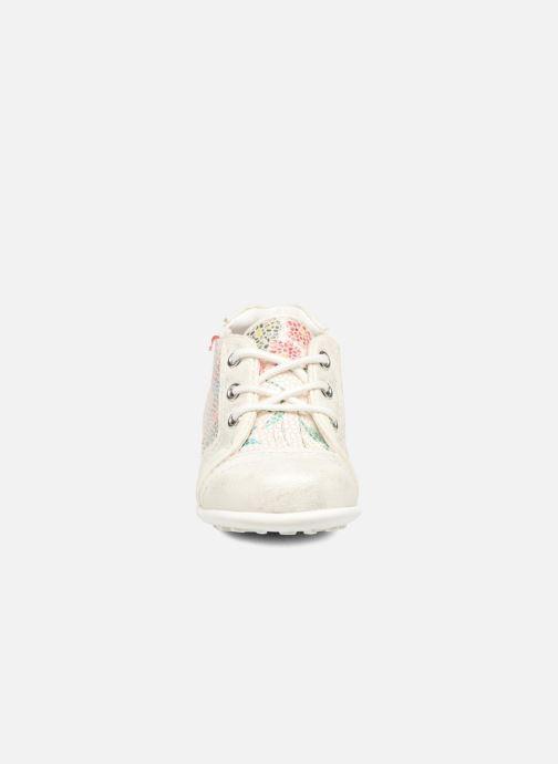 Zapatos con cordones NA! Acelle Blanco vista del modelo