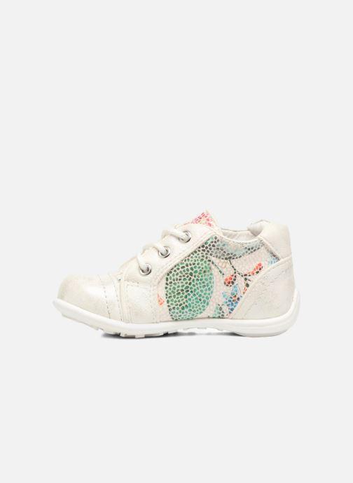 Chaussures à lacets NA! Acelle Blanc vue face