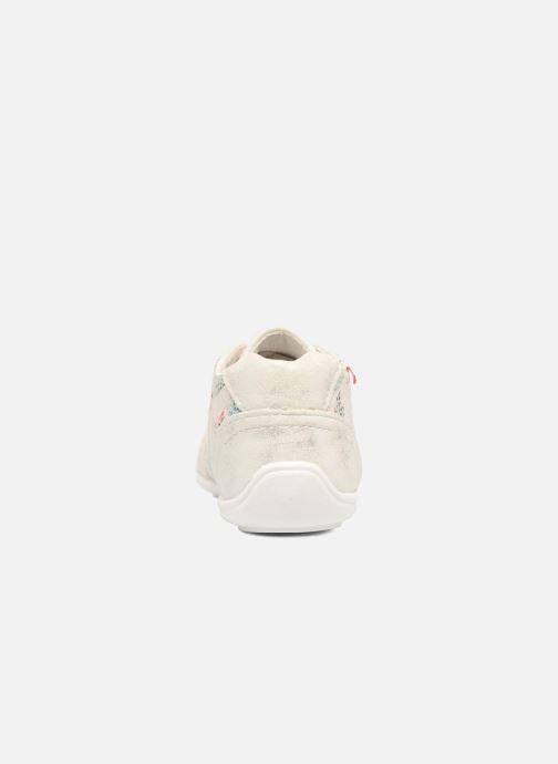 Zapatos con cordones NA! Acelle Blanco vista lateral derecha