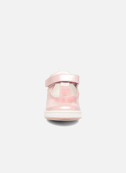 Bottines d'été NA! Algave Rose vue portées chaussures