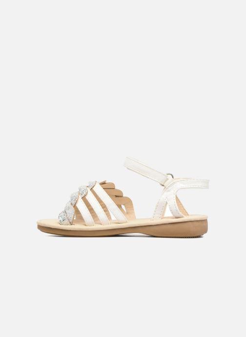 Sandales et nu-pieds NA! Feerie Blanc vue face