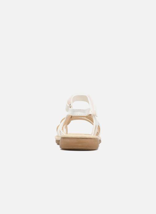 Sandales et nu-pieds NA! Feerie Blanc vue droite