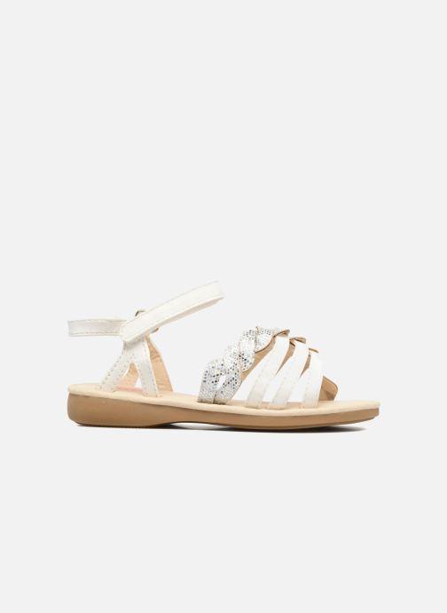 Sandales et nu-pieds NA! Feerie Blanc vue derrière