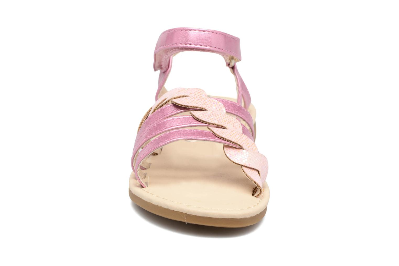 Sandalen NA! Feerie rosa schuhe getragen