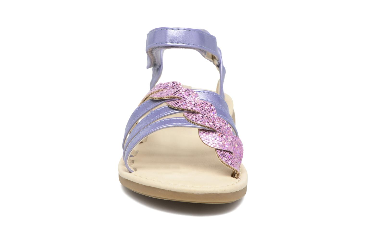 Sandals NA! Feerie Purple model view
