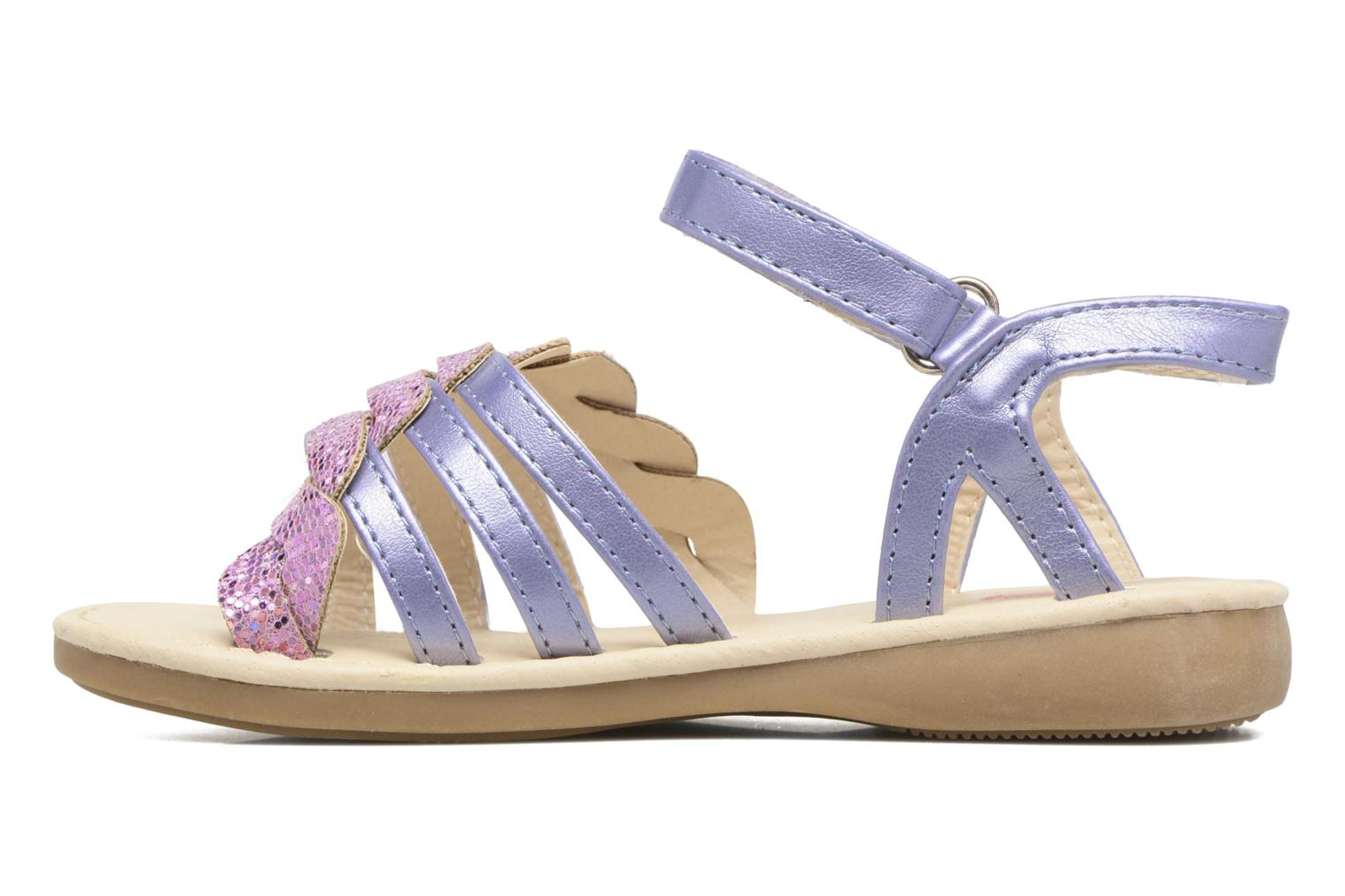 Sandals NA! Feerie Purple front view