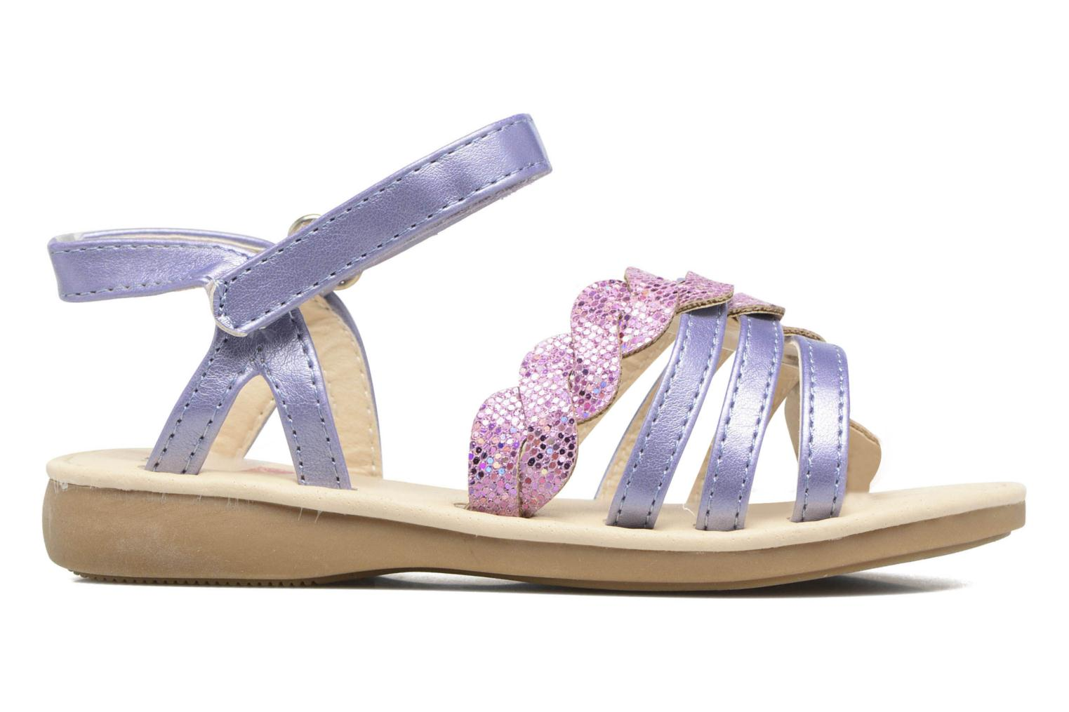 Sandals NA! Feerie Purple back view