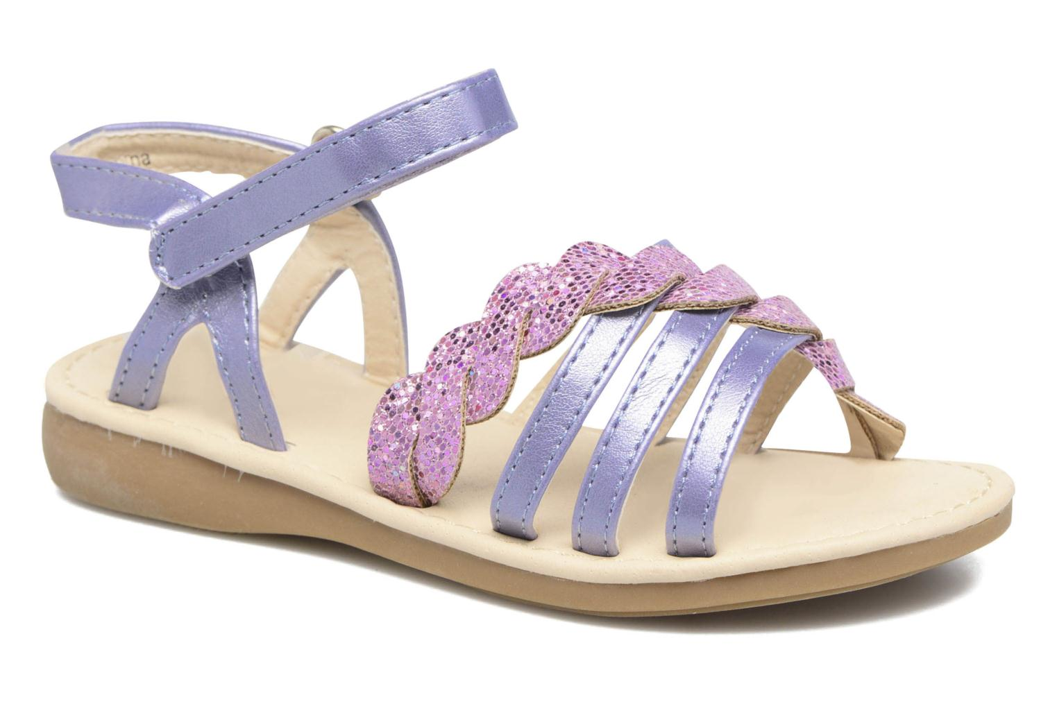 Sandals NA! Feerie Purple detailed view/ Pair view