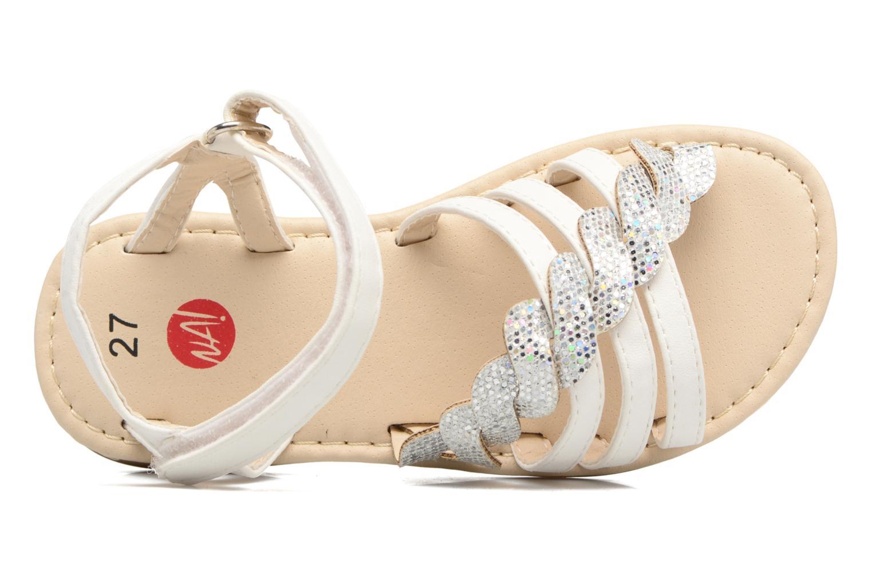Sandaler NA! Feerie Hvid se fra venstre